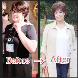 椎名 純子のビフォーアフター写真